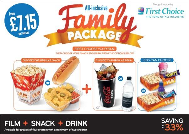 Odeon Food Prices Nachos