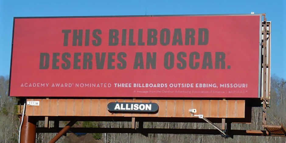 What does the billboard movie tell us about todays billboards digital billboard in sylva north carolina stopboris Images
