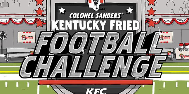 KFC Creates Instagram Football Game With Kentucky Fried