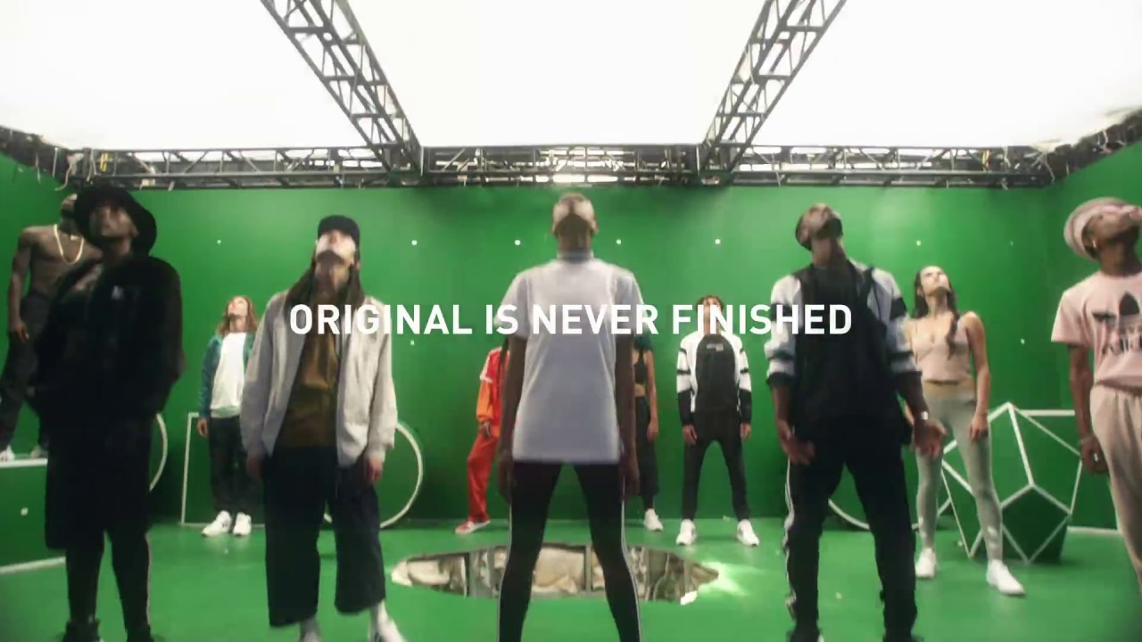 Adidas Originals: Original Is Never Finished 2018 by