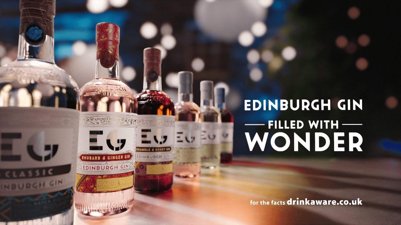 Edinburgh Gin: Filled With Wonder by Bright Signals