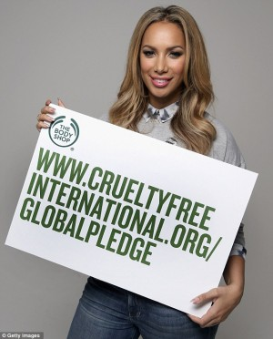 Leona Lewis named The Body Shop brand ambassador as she launches new