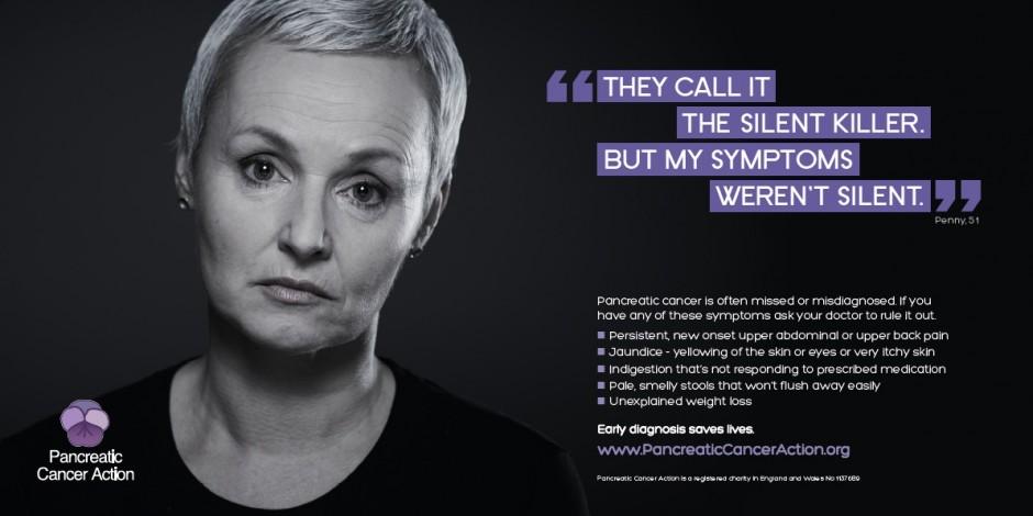 Pancreatic Cancer Action follows up 'I wish I had breast cancer' ad