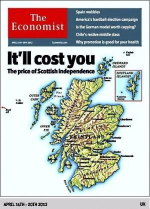 Alex Salmond hits out at The Economist magazine's depiction