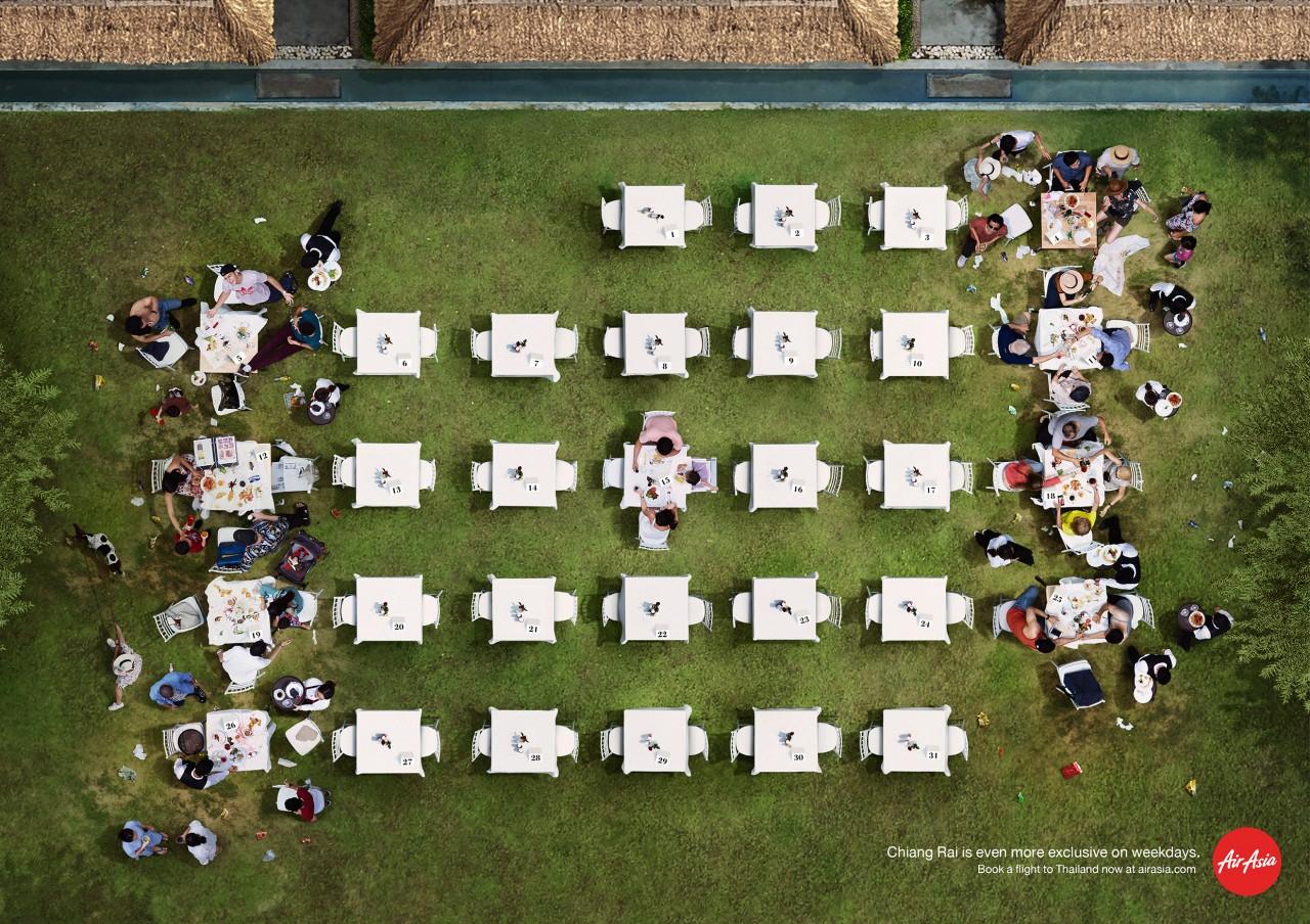 Poster du lịch ấn tượng từAir Asia