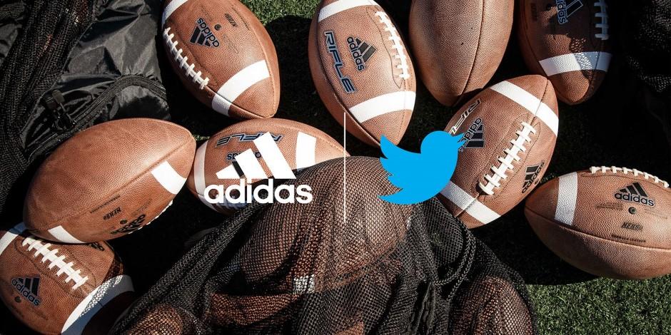 Adidas kicks off Twitter live-streaming
