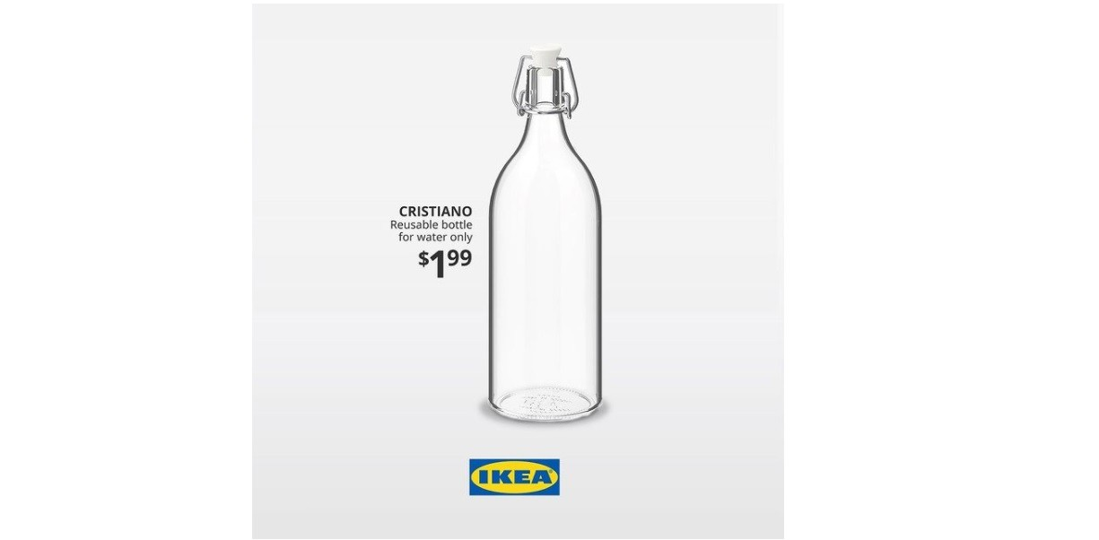 Ad of the Day: Ikea bottles Ronaldo's anti-Coca-Cola stance