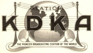 Image result for KDKA radio 1920