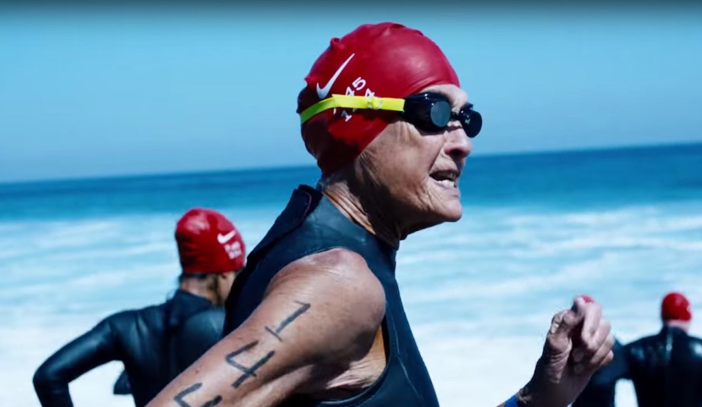 8292b27b51bd Holy triathlon! Sister Madonna Buder features in new Nike work from ...