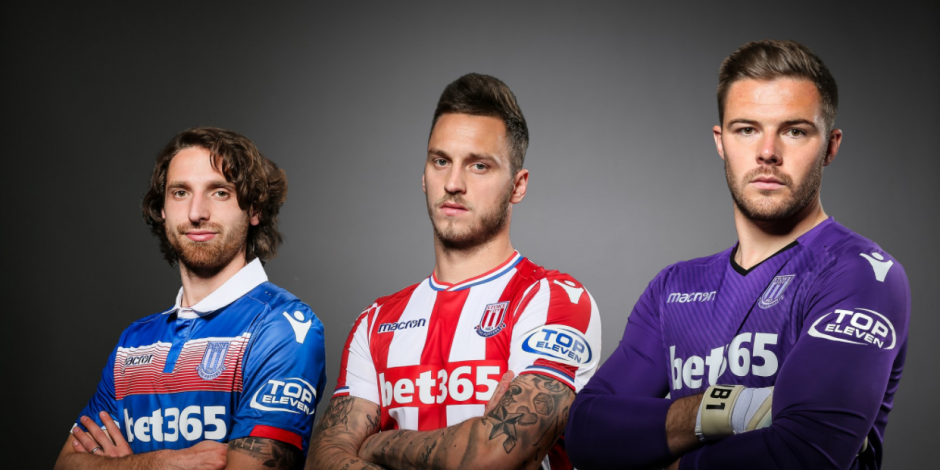f8f18ba0d Stoke City are the second Premier League club to take up the new sleeve  sponsorship opportunities