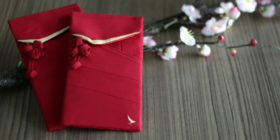 Cathay Pacific creates sustainable red envelopes from old uniforms