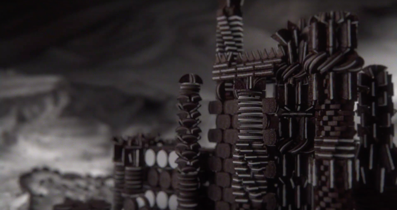 Oreo Recreates Game Of Thrones Titles With Cookies In Largest Brand