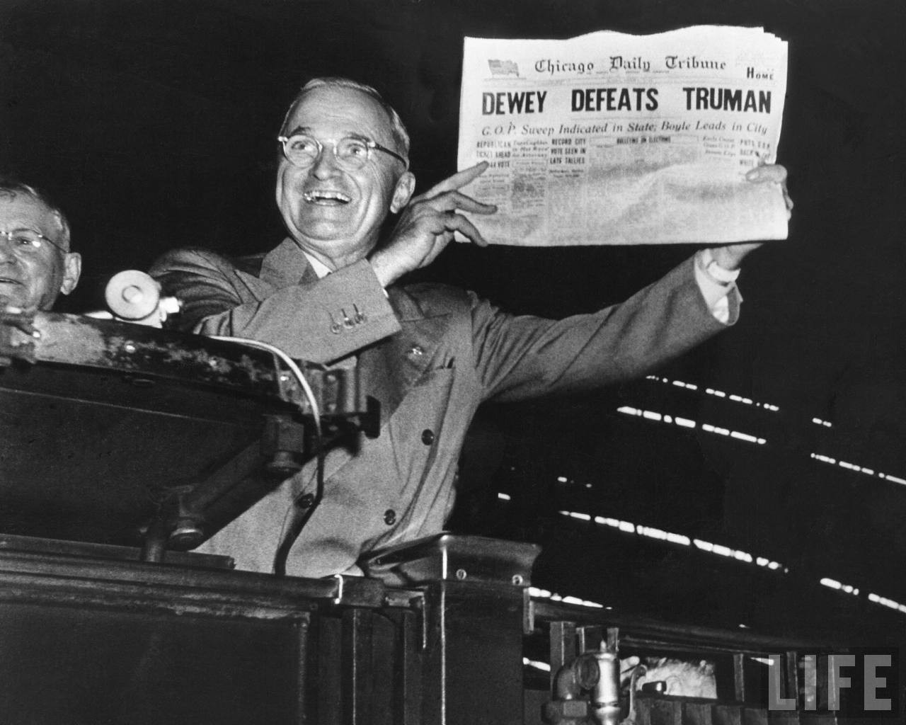 How Clinton's projected victory is the 'Dewey Defeats Truman' of ...