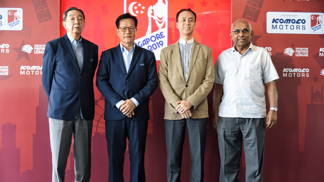 Komoco Motors signed as the new title sponsor of the Singapore Cup