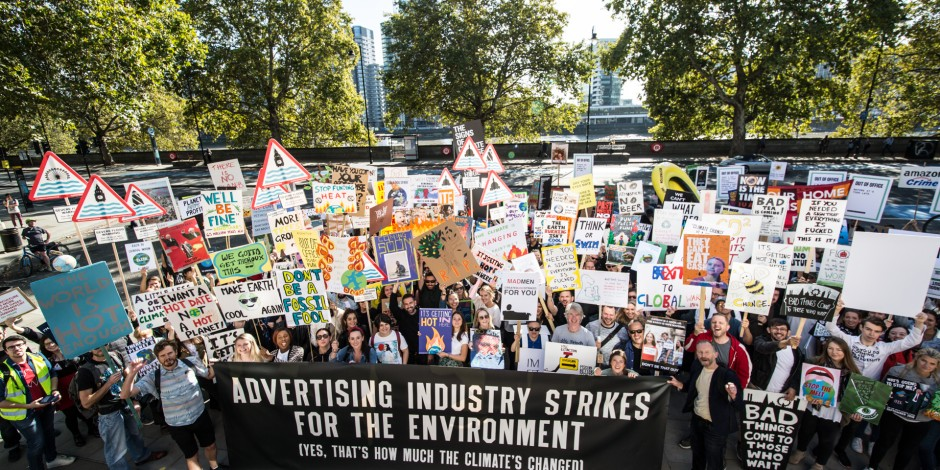 Create and Strike: ad land takes an environmental stance, but what did it achieve?