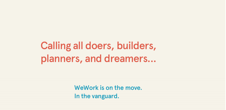 Maurice Lévy's first WeWork turn around ad revealed