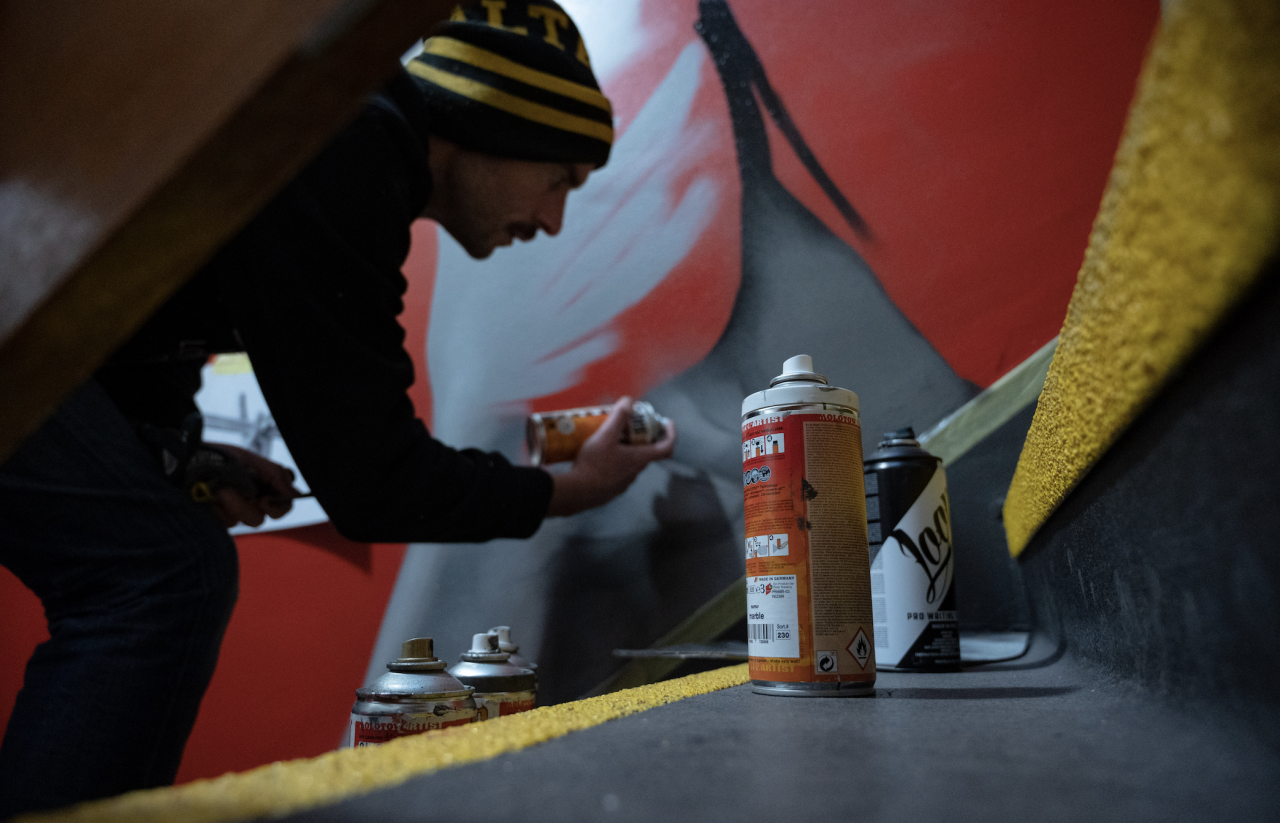Mural firms got locked down, but they got up again