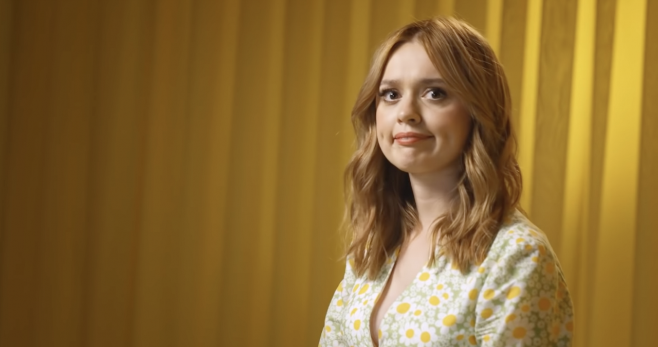Ad of the Day: Aimee Lou Wood talks first moves and awkward openers in Bumble ad