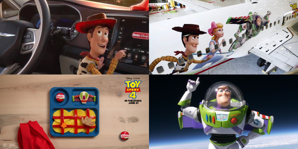 How brands are playing with their Toy Story 4 marketing