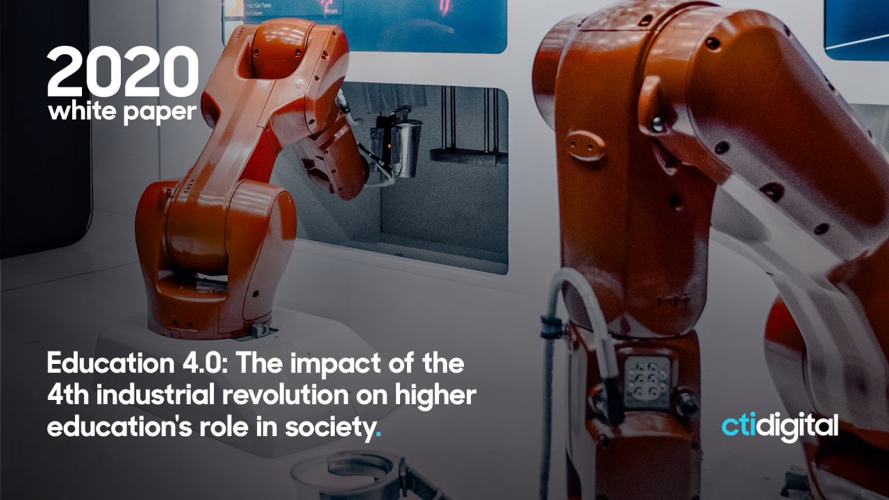 Automation and employment: How universities must respond to Industry 4.0