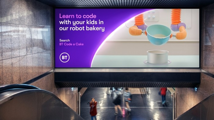 Why BT encouraged families to 'Code a Cake'