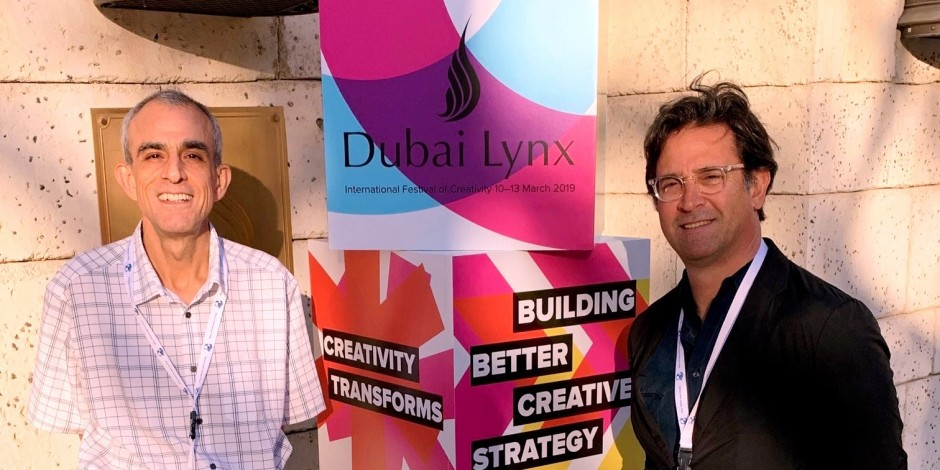 Memories of Dubai Lynx, a Cannes Lion marketing festival in the desert