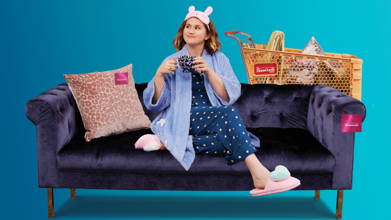 Looking to recoup Covid sales losses, HomeGoods taps Jillian Bell for comedic miniseries