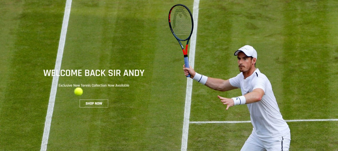 'It gave us instant authority': Castore on its first months as Andy Murray's sponsor