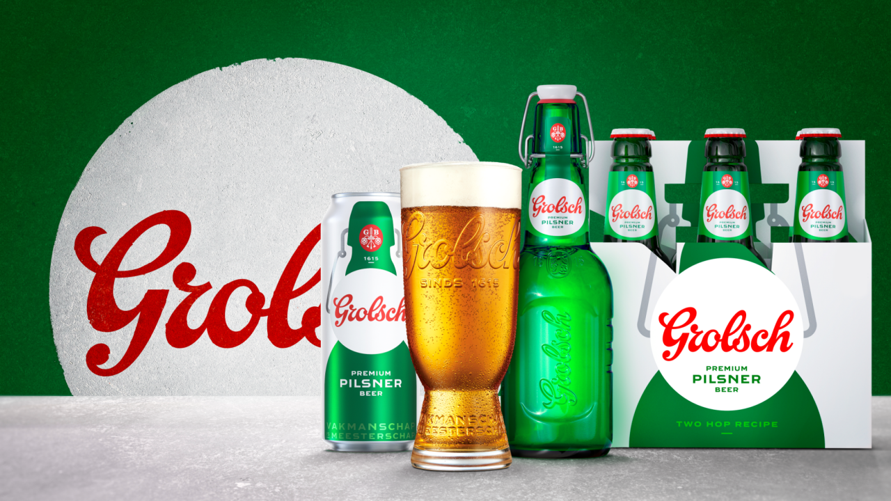 Relaunching Grolsch in lockdown: 'I've never seen the legs of half the people I work with'