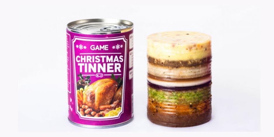 Christmas Tinner 2020 Game's Christmas Tinner makes a return with a veggie and vegan