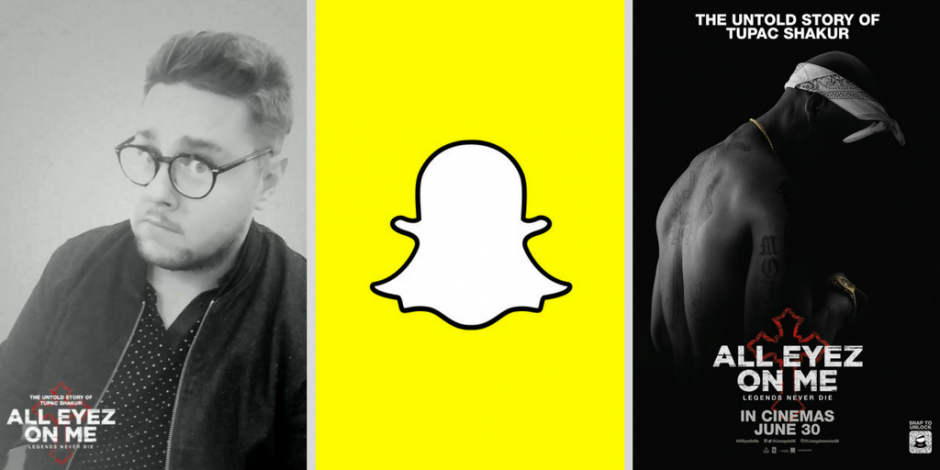 Snapchat Lens lets Tupac fans remix All Eyez on Me songs using their