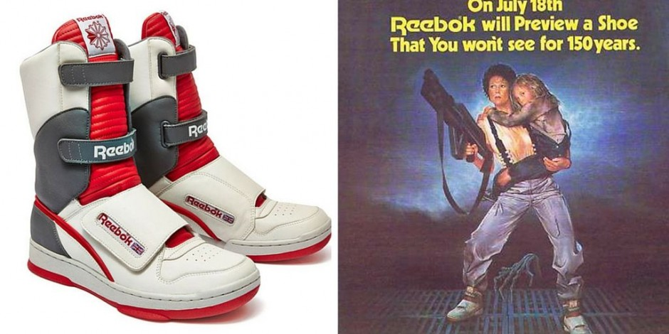 77018b75ae3 Reebok stomped for failing to stock Ripley from Aliens' sneakers in ...