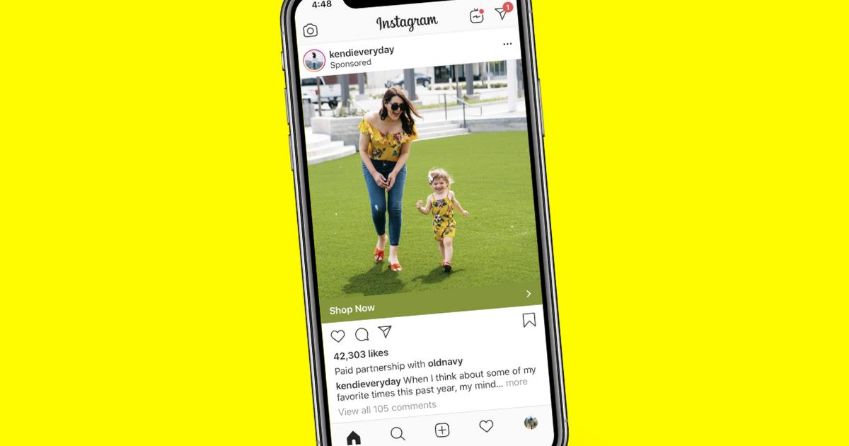 Instagram lets brands turn influencer posts into ads