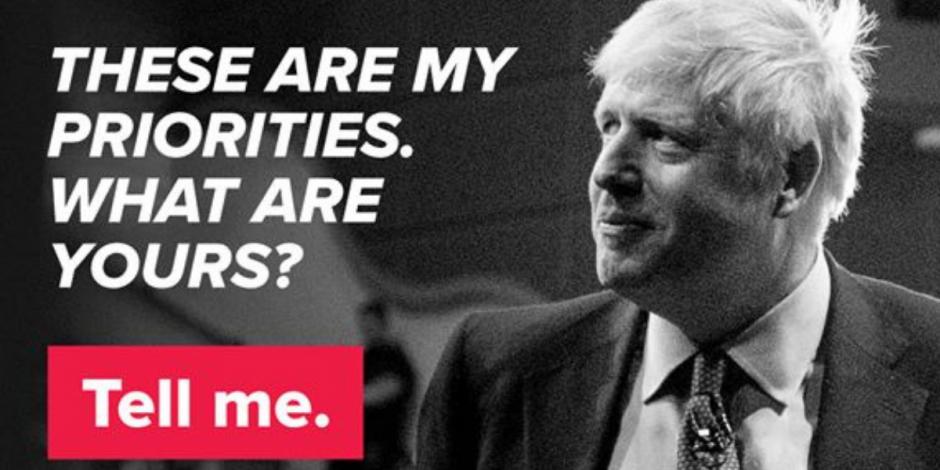 Conservatives mount Brexit ad blitz on Facebook as Boris