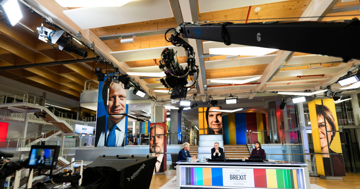 BuzzFeed, AR and Boris' majority – behind the scenes of Sky's 2019 election coverage