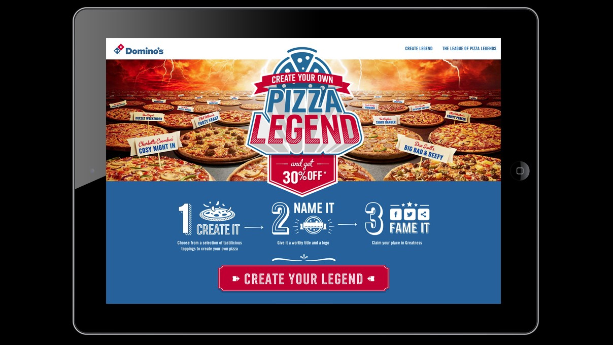 Domino's UK Pizza Legends